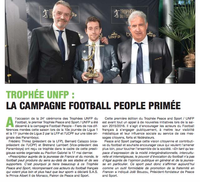 footpro magazine trophees unfp